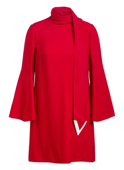 VALENTINO Kleid mit Schluppe, Farbe: ROT (Bild 1)