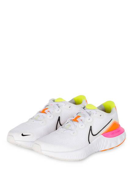 Nike Sneaker RENEW RUN , Farbe: WEISS/ NEONORANGE/ NEONPINK (Bild 1)