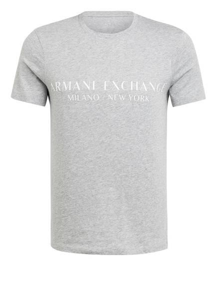 ARMANI EXCHANGE T-Shirt , Farbe: HELLGRAU MELIERT (Bild 1)