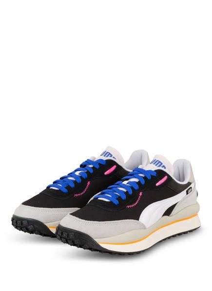 PUMA Sneaker STYLE RIDER PLAY ON, Farbe: SCHWARZ/ WEISS/ HELLGRAU (Bild 1)