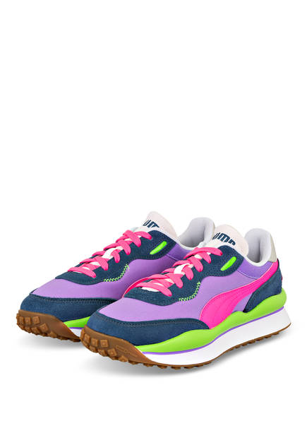 PUMA Sneaker STYLE RIDER PLAY ON, Farbe: LILA/ PINK/ GRÜN (Bild 1)