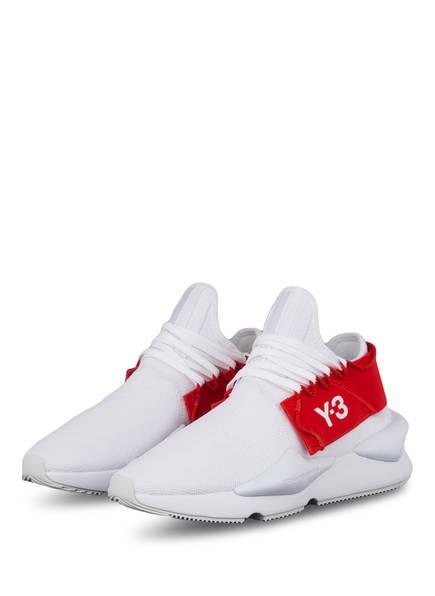Y-3 Sneaker KAIWA KNIT, Farbe: WEISS/ ROT (Bild 1)