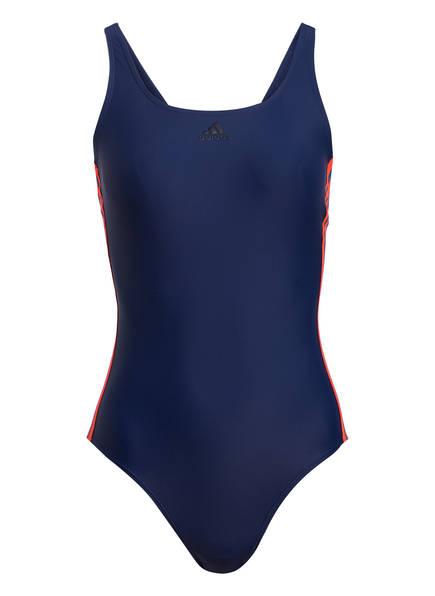 adidas Badeanzug ATHLY V, Farbe: BLAU/ ORANGE (Bild 1)