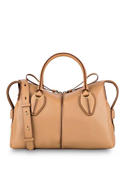 TOD'S Handtasche D-STYLING MEDIUM, Farbe: DUNKELBEIGE (Bild 1)