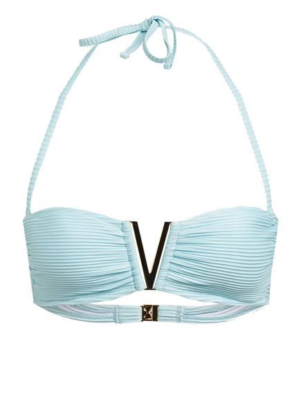 heidi klein Bandeau-Bikini-Top MARSEILLE, Farbe: TÜRKIS (Bild 1)