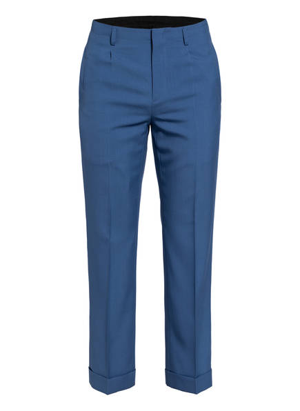 GIVENCHY Hose Regular Fit mit verkürzter Beinlänge, Farbe: BLAU (Bild 1)
