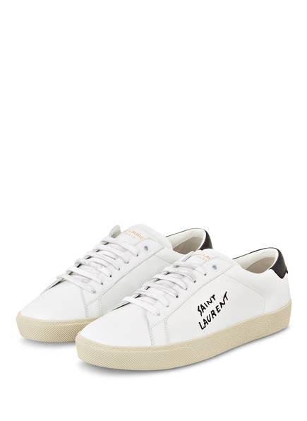 SAINT LAURENT Sneaker COURT CLASSIC SL/06, Farbe: WEISS (Bild 1)
