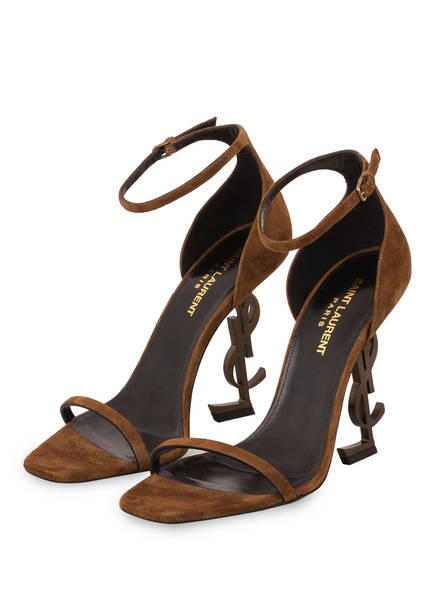 SAINT LAURENT Sandaletten OPYUM , Farbe: BRAUN (Bild 1)