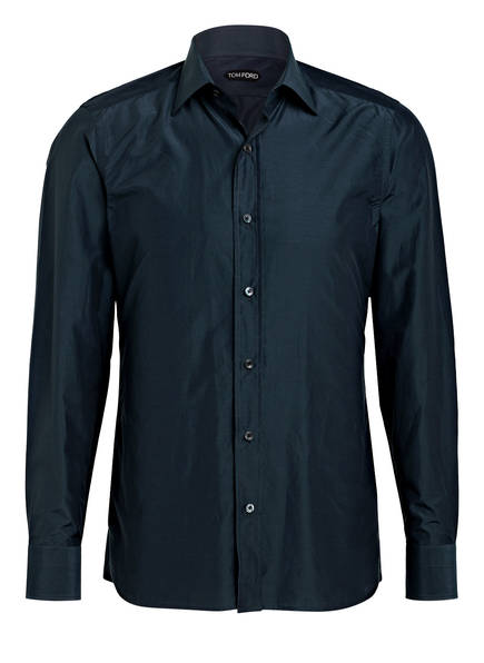 TOM FORD Hemd Extra Slim Fit mit Seide, Farbe: DUNKELGRAU (Bild 1)