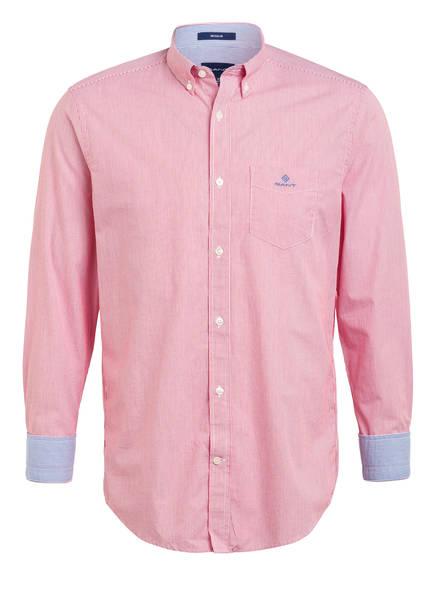 GANT Hemd Regular Fit, Farbe: ROT/ WEISS GESTREIFT (Bild 1)