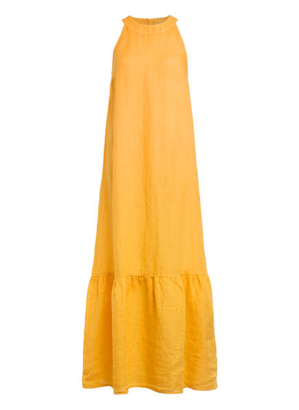 120%lino Leinenkleid, Farbe: GELB (Bild 1)