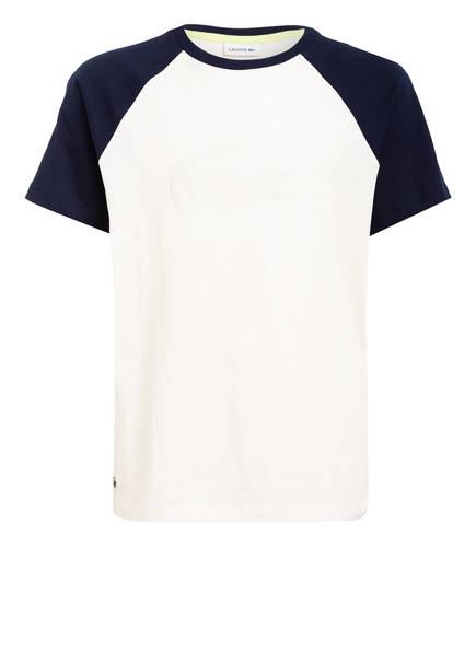 LACOSTE T-Shirt, Farbe: ECRU/ DUNKELBLAU (Bild 1)