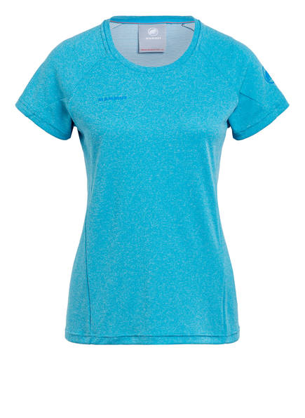 MAMMUT T-Shirt AEGILITY, Farbe: HELLBLAU MELIERT (Bild 1)