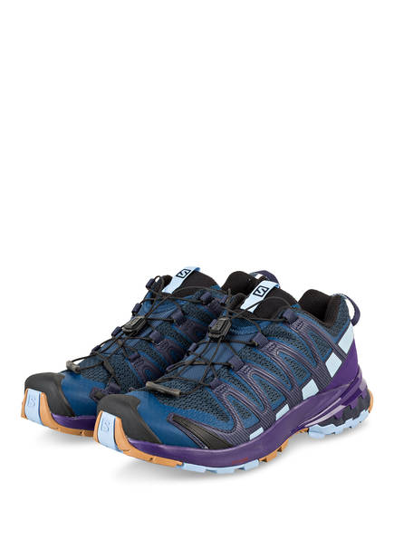 SALOMON Trailrunning-Schuhe XA PRO 3D, Farbe: DUNKELBLAU/ LILA (Bild 1)