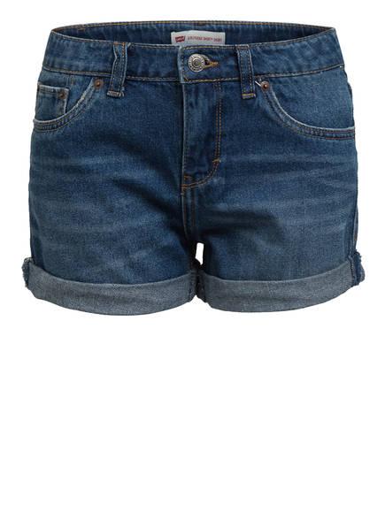 Levi's® Jeans-Shorts GIRLFRIEND SHORTY SHORT, Farbe: BLAU (Bild 1)