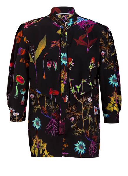STELLA McCARTNEY Schluppenbluse aus Seide, Farbe: SCHWARZ (Bild 1)