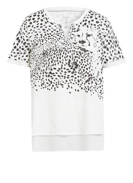 MARCCAIN T-Shirt , Farbe: 190 WEISS/ SCHWARZ (Bild 1)