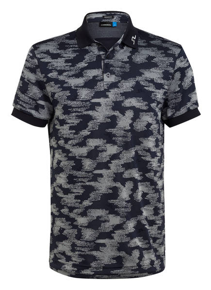 J.LINDEBERG Jersey-Poloshirt, Farbe: NAVY/ GRAU (Bild 1)