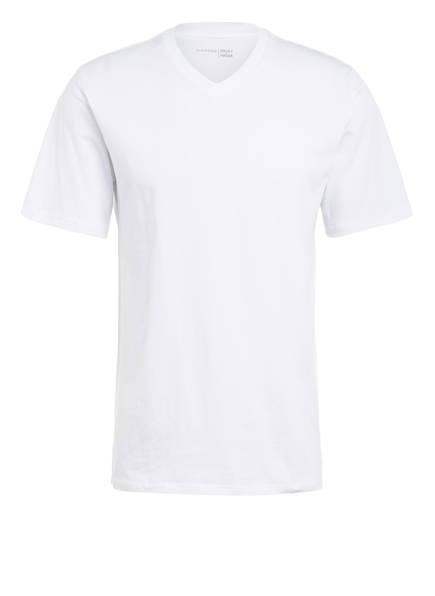 SCHIESSER Schlafshirt , Farbe: WEISS (Bild 1)