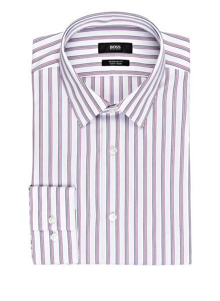 BOSS Hemd ELIOTT Regular Fit, Farbe: WEISS/ LILA/ DUNKELBLAU (Bild 1)