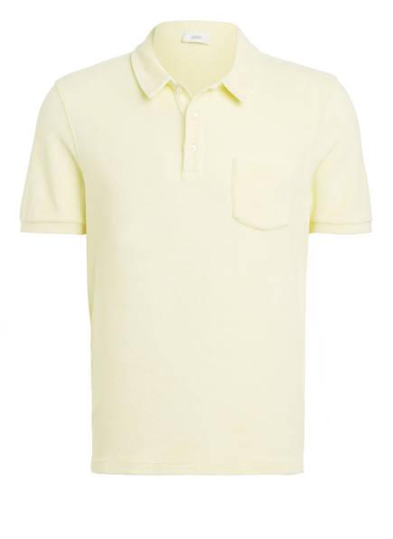 CLOSED Frottee-Poloshirt Regular Fit, Farbe: HELLGELB (Bild 1)