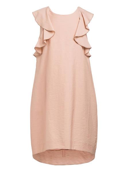 BRUNELLO CUCINELLI Kleid mit Volantbesatz, Farbe: NUDE (Bild 1)