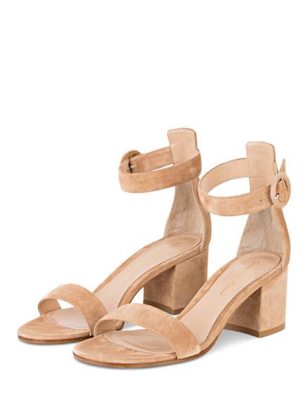 Gianvito Rossi Sandaletten, Farbe: BEIGE (Bild 1)