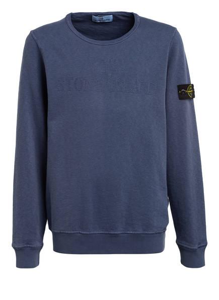 STONE ISLAND JUNIOR Sweatshirt, Farbe: BLAU (Bild 1)