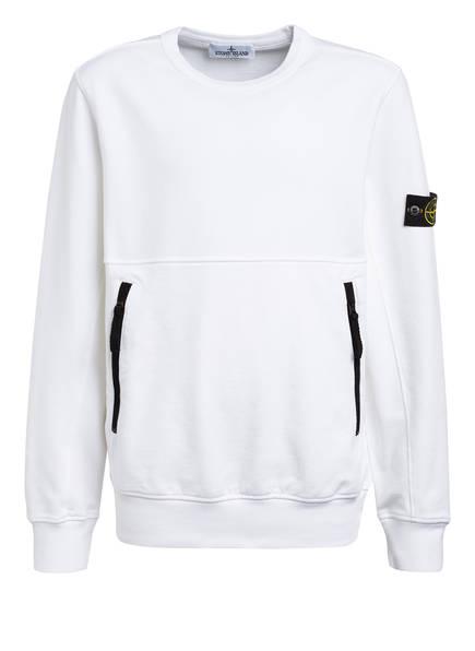 STONE ISLAND JUNIOR Sweatshirt, Farbe: WEISS (Bild 1)