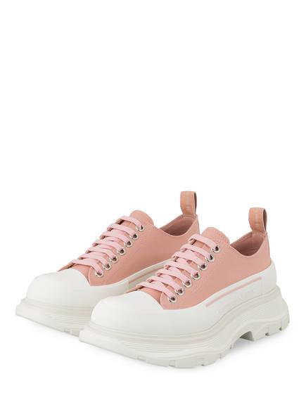 ALEXANDER McQUEEN Plateau-Sneaker, Farbe: HELLROSA (Bild 1)