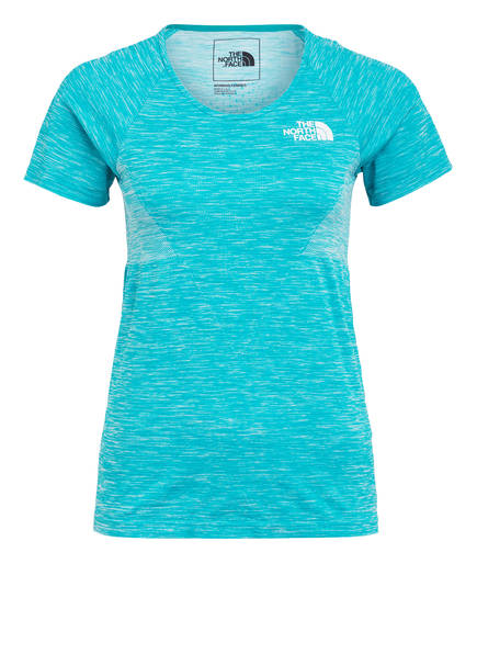 THE NORTH FACE T-Shirt IMPENDOR , Farbe: TÜRKIS MELIERT (Bild 1)