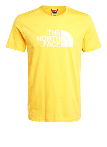 THE NORTH FACE T-Shirt EASY, Farbe: GELB (Bild 1)