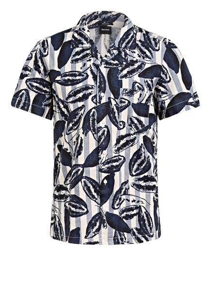 BOSS Resorthemd RHYTHM Regular Fit, Farbe: DUNKELBLAU/ ECRU (Bild 1)