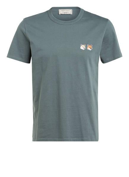 MAISON KITSUNÉ T-Shirt, Farbe: GRÜN (Bild 1)