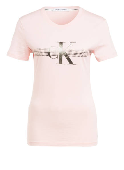Calvin Klein Jeans T-Shirt, Farbe: HELLROSA (Bild 1)