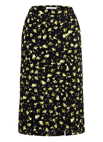 Calvin Klein Jeans Rock, Farbe: SCHWARZ/ GELB (Bild 1)
