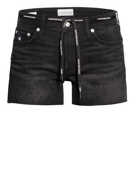 Calvin Klein Jeans Jeans-Shorts, Farbe: 1BY DA077 BLACK LACE RWH (Bild 1)