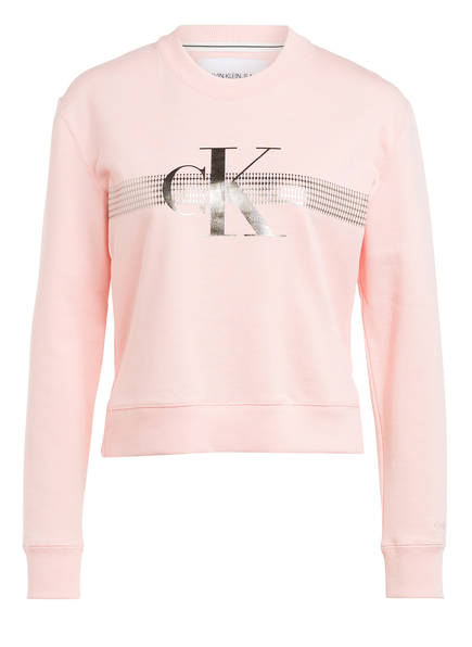 Calvin Klein Jeans Sweatshirt, Farbe: HELLROSA (Bild 1)