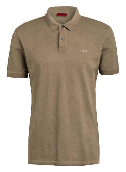 HUGO Piqué-Poloshirt DAGIC Regular Fit, Farbe: HELLBRAUN (Bild 1)