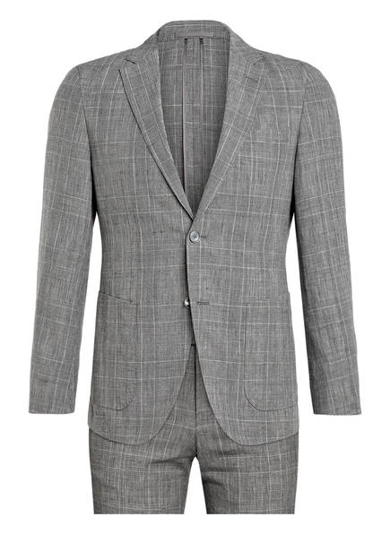 BOSS Anzug NOVEM Tailored Fit mit Leinen, Farbe: GRAU (Bild 1)
