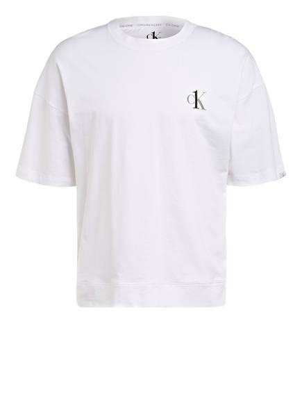 Calvin Klein Schlafshirt , Farbe: WEISS (Bild 1)