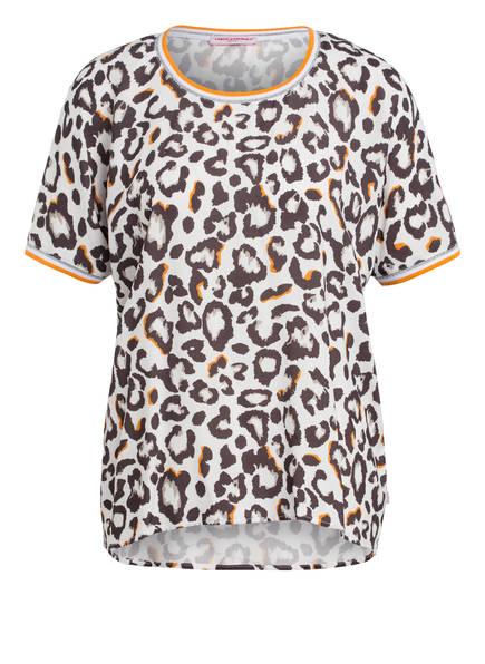 FRIEDA&FREDDIES Blusenshirt, Farbe: WEISS/ BRAUN/ ORANGE (Bild 1)