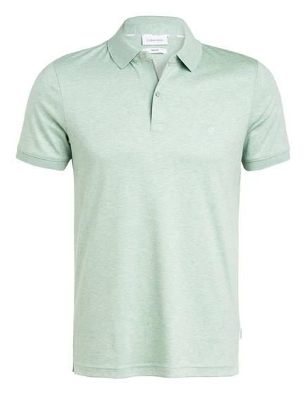 Calvin Klein Jersey-Poloshirt Slim Fit, Farbe: HELLGRÜN (Bild 1)