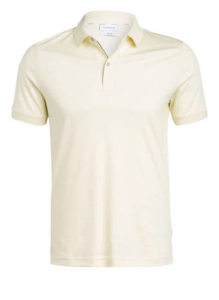 Calvin Klein Jersey-Poloshirt Slim Fit, Farbe: HELLGELB (Bild 1)