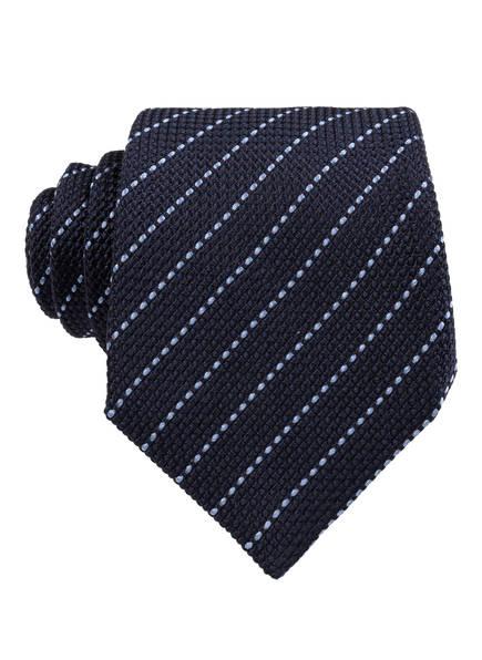 OLYMP SIGNATURE Krawatte, Farbe: DUNKELBLAU/ HELLBLAU (Bild 1)