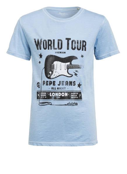 Pepe Jeans T-Shirt, Farbe: HELLBLAU (Bild 1)