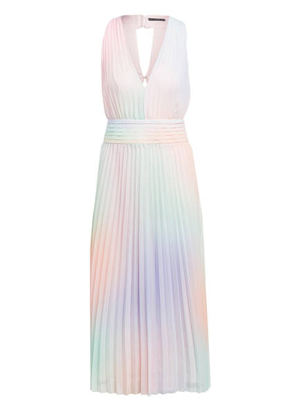 GUESS Plisseekleid, Farbe: ROSA/ HELLLILA/ MINT (Bild 1)