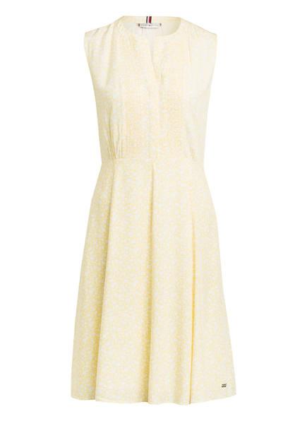 TOMMY HILFIGER Kleid DANEE, Farbe: GELB/ WEISS (Bild 1)