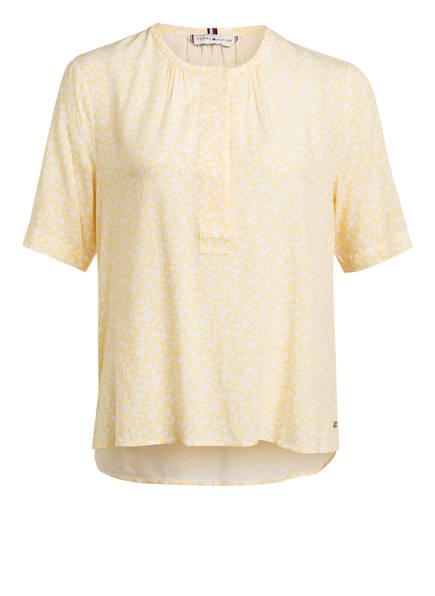 TOMMY HILFIGER Blusenshirt, Farbe: GELB/ WEISS (Bild 1)
