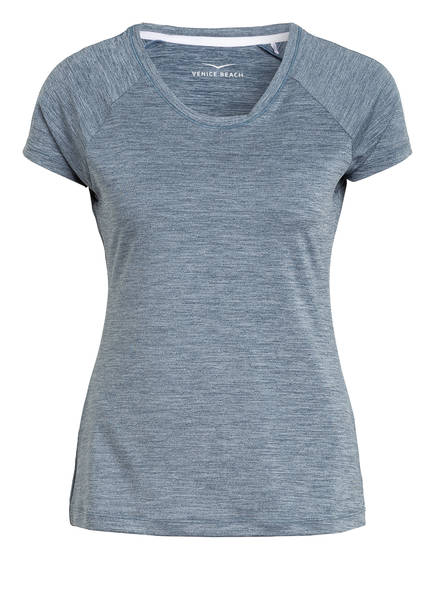 VENICE BEACH T-Shirt DERYA, Farbe: BLAUGRAU MELIERT (Bild 1)